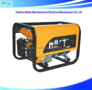 2.5Kw 6.5HP eléctrico portátil 8500W preços gerador a gasolina