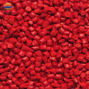 Gránulos de masterbatches de color rojo para uso alimentario