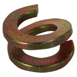 Rondelle de verrouillage en acier inoxydable plaqué zinc