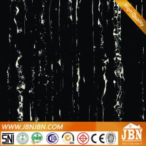 完全なボディ同質で黒い大理石の床タイル(JM6614)
