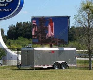 P8 en plein air montés sur camion avec affichage LED haute luminosité