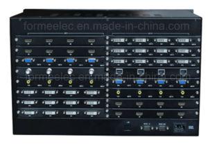 HDMI DVI Matrix-Teiler-Matrix-Rangierlok-Schalter VGA-Handels Misch-HD