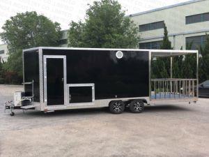 Camion mobile dell'alimento del rimorchio dell'alimento di alta qualità del comitato Re-Enforced vetro da vendere