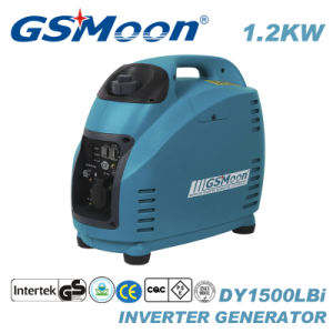 generatore silenzioso portatile dell'invertitore di CA Digital di 1.2kVA 4-Stroke