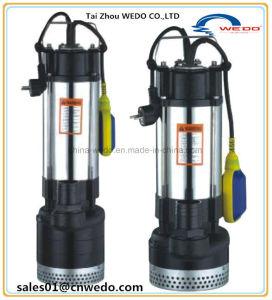 Eaux usées Submwersible électrique de pompe à eau, pompe Diry Submwersible pompe,