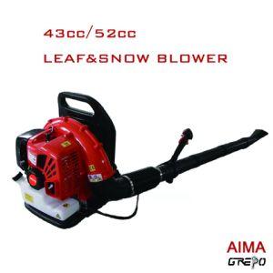 L'essence sac à dos de la soufflante de jardin eb430 pour feuilles et de nettoyage de la neige