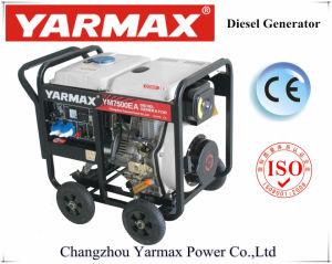 Yarmaxの安い価格5.5kVA 6.5kVAはタイプディーゼル発電機セットのディーゼル機関Genset Ym9500eb-IIを開く