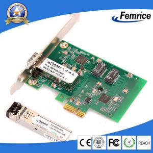 Ordinateur de bureau Femrice 1000Mbits/s, cartes Ethernet carte réseau à fibre optique, PCI Express x1 carte LAN Clients légers