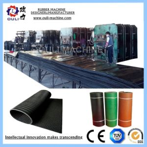 Gummiförderband-Vulkanisierung maschinell hergestellt durch Ouli Factory