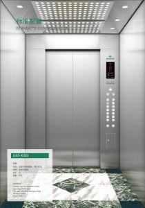 Acero inoxidable sencillo económico elevador de pasajeros de inicio
