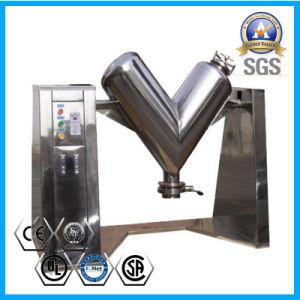 V Mischer-Maschine für Nahrungsmittelkegel-Chemikalien-/Mischmaschine-pharmazeutische Schlitz-Abflussrinne-Mischmaschine für Medizin-Puder