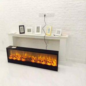 Vendas quente Ressessed de alta qualidade ou Inserir ou incorporado ou uma parede interna lareira elétrica com controle remoto
