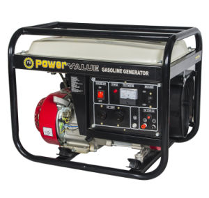 El valor de potencia del generador de Gasolina 4kw, Generador Portátil de 220V 60Hz Gerador