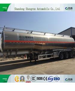 Welle 3 40000 Liter Kraftstoff-Tanker-LKW-Schlussteil-für Verkauf