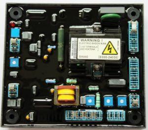 El AVR SX440 para alternador Stamford regulador de voltaje automático
