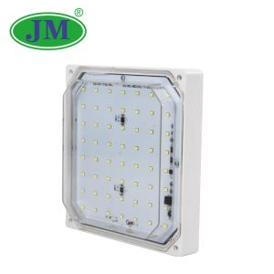 IP66 20W Luminaria LED de la Plaza de las lámparas de luz LED nevera en la habitación fría