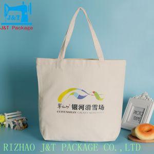 Promotion de la toile de coton imprimé personnalisé Sac fourre-tout Avec Logo imprimé personnalisé personnalisé