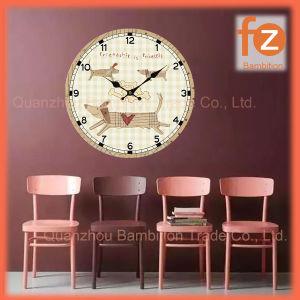 (0.5Cm caliente el cuerpo), la venta de varios estilos innovadores comercio al por mayor Reloj de pared Pared Vintage Antiguo reloj redondo de madera para la decoración del hogar016007-65 Fz.