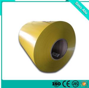 합성 위원회를 위한 황금 금관 악기 색깔 코팅 알루미늄 코일