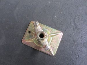 Ecrou-papillon galvanisé de tige de renfort de Scaffolding15/17mm