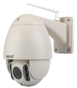 Wanscam Hw0045 imprägniern PTZ 5X lautes Summen 2MP Onvif, das in 16g TF Kartedrahtlosem P2p IP-Kamera IR-Abstand 80m aufgebaut wird