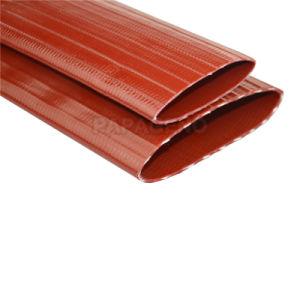 3/4-12 de PVC reforzado quedar plana la manguera de descarga
