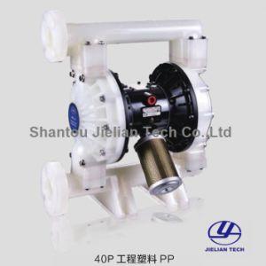 Pompa a membrana di modo del doppio della materia plastica di Bml-40p con azionamento pneumatico