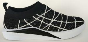 Comodidad calzado Flyknit gimnasio de la mujer zapatillas deportivas zapatos para correr (061)