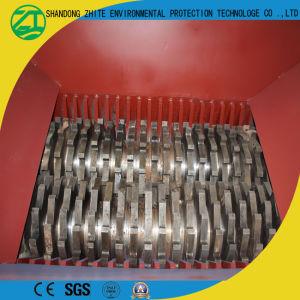 ゴム製粉への不用なタイヤのシュレッダー(省エネ)