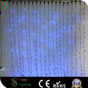 Cambio de color de la cortina de luz LED de la cadena para la Decoración de pared