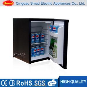 Refrigerador de carro de porta solta transparente de 28 l