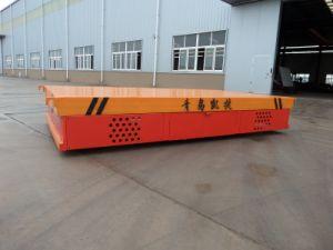 Funcionamento eléctrico convenientes Flatcar na pista
