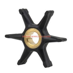 Placa de borracha de tamanho personalizado esmorecer lobulada / Rodas / Roda do Impulsor da Bomba de Água