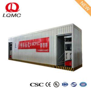 Doble capa interior del depósito de combustible de la Gasolinera de llenado de móviles portátiles