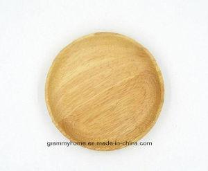 Plaques en bois rond pour Restaurant des plats japonais en bois naturel