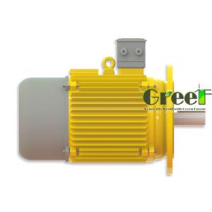 3KW 200tr/min, 3 générateur de phase magnétique AC générateur magnétique permanent, le vent de l'eau à utiliser avec un régime faible