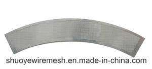 Het Blad van het Ponsen van het roestvrij staal voor Filters laste het het Scherm Geperforeerde Metaal van het Blad in