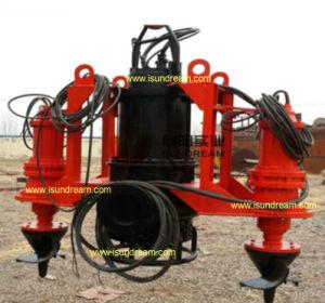 Sumergible centrífugo de dragado de arena de la bomba de lodo con el agitador y excavadora