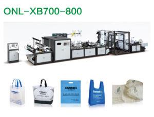 Caixa de não tecidos máquina de fazer saco (AW-XB700-800)