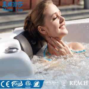 Monalisa Jato de Surf inoxidável massagem SPA banheira de hidromassagem jacuzzi (M-3341)