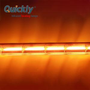 Filamento de tungsténio Fast Onda Média da lâmpada de aquecimento por infravermelhos