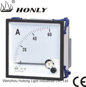 Medidor do painel---Série SD movendo o tipo de ferro AC amperímetro (SD-S80-T AC **Um)