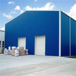 Garage prefabbricati del metallo della struttura d'acciaio, garage d'acciaio