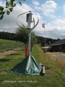 1000W Gerador eólico vertical na montanha