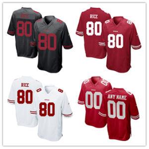 저어지 49ers Jerseys 80 Jerry 밥을 서비스하는 2018년 Camo 인사