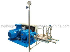 Un cylindre de liquide cryogénique (pompe de remplissage Dvna400-1000/165)