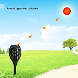 Dämmerung, zum zu dämmern Selbstmoderner Entwurfs-AN/AUS-Dekoration SolarPation Flamme-Licht