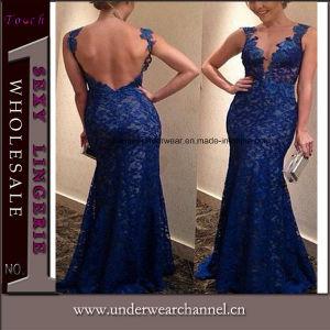 Fabricante de vestidos de Prom Moda Mujer, las mujeres a largo vestido de noche (3154)