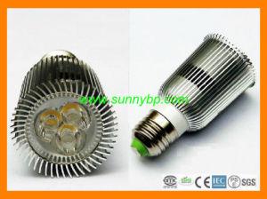 9W E27 wärmen weißen LED-Scheinwerfer