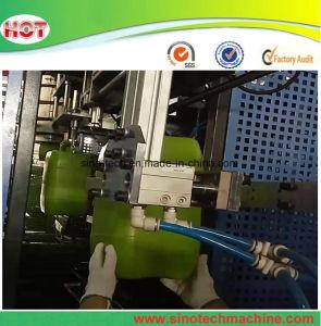 Garrafa de HDPE Botella de plástico/máquina de moldeo por soplado maquinaria de soplado de barril